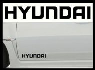 HYUNDAI CAR BODY DECALS